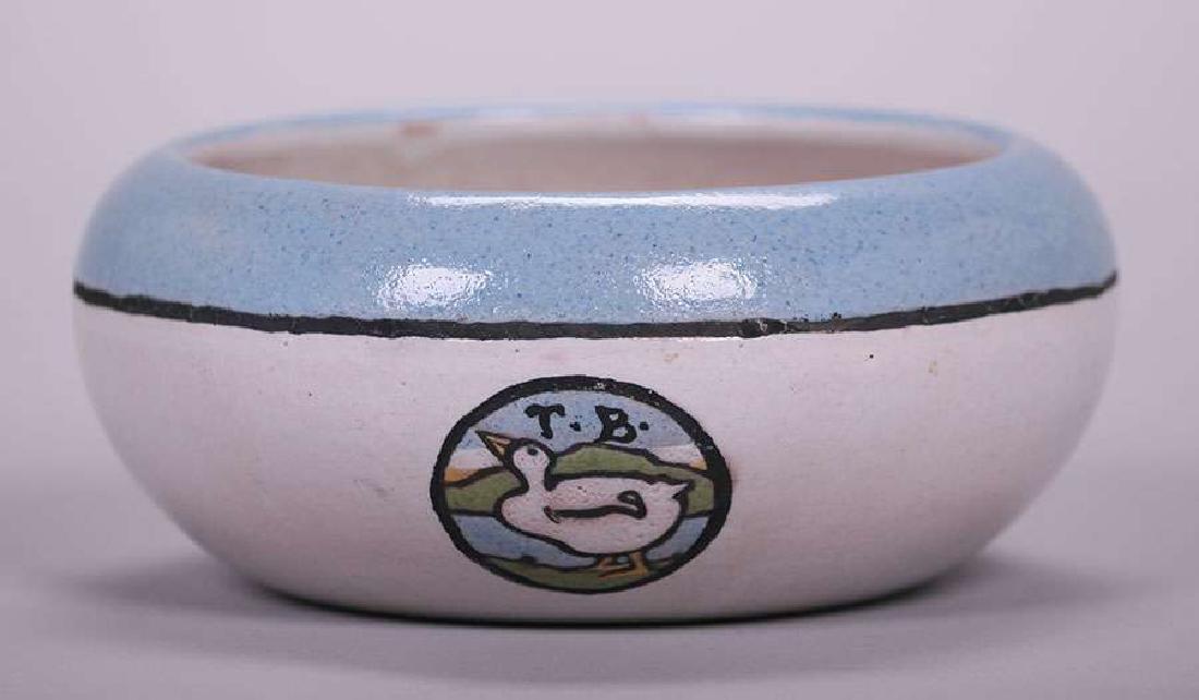 Saturday Evening Girls Bowl Circular Duck Design 1920