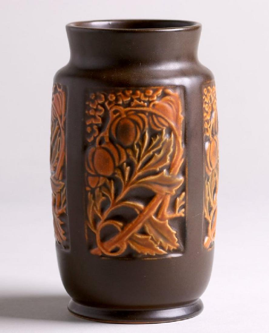 "Roseville Rosecraft Panel 7"" Vase"