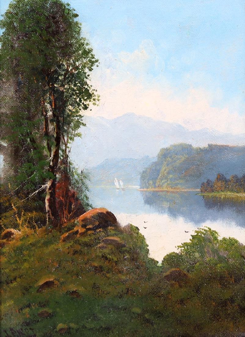Joseph John Englehart Painting SF Bay Mt Tamalpais