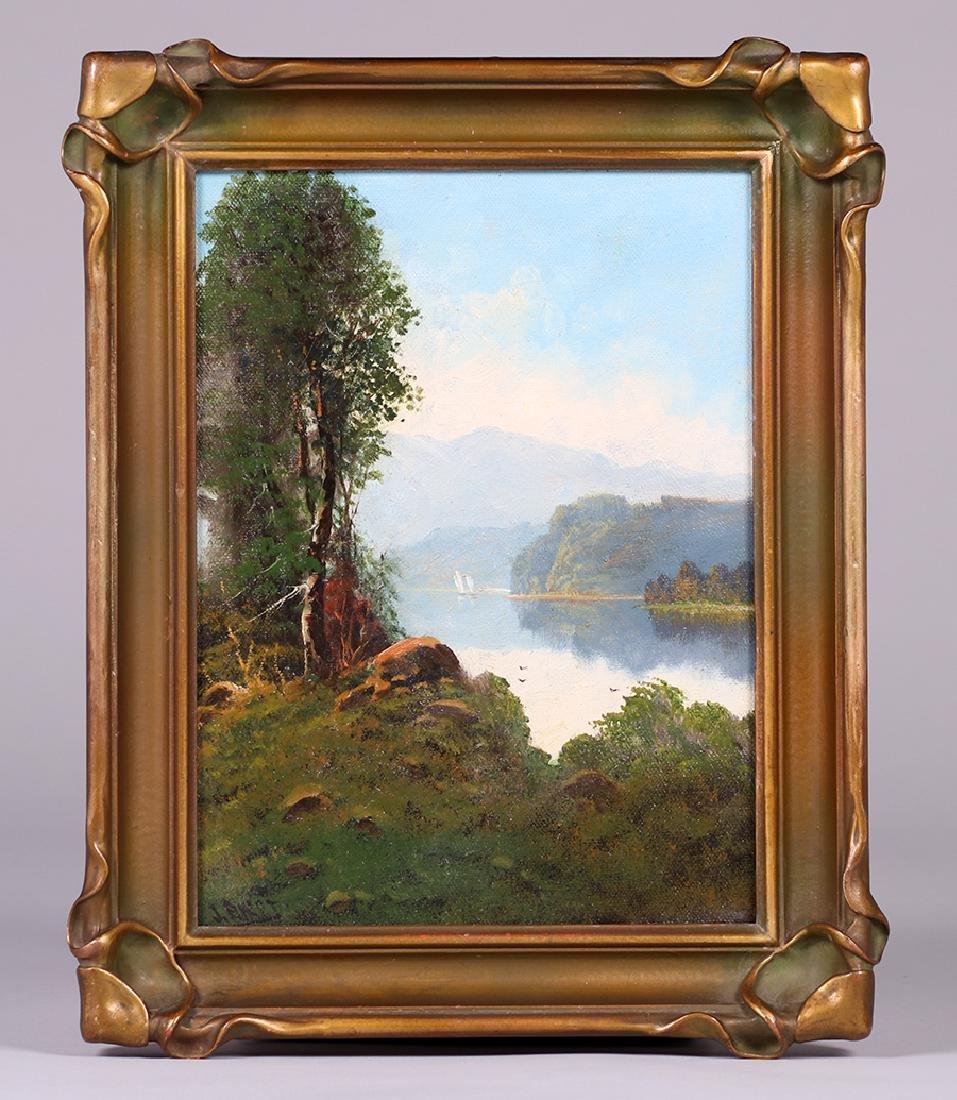 Joseph John Englehart Painting SF Bay Mt Tamalpais - 2