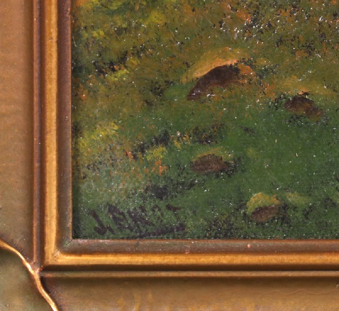 Joseph John Englehart Painting SF Bay Mt Tamalpais - 3
