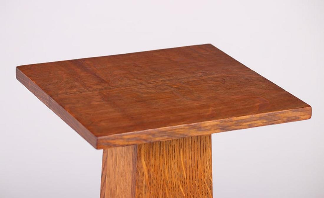 Stickley Brothers Square Pedestal c1910 - 3