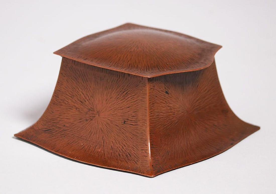 Fred Brosi Radial Hammered Copper Inkwell
