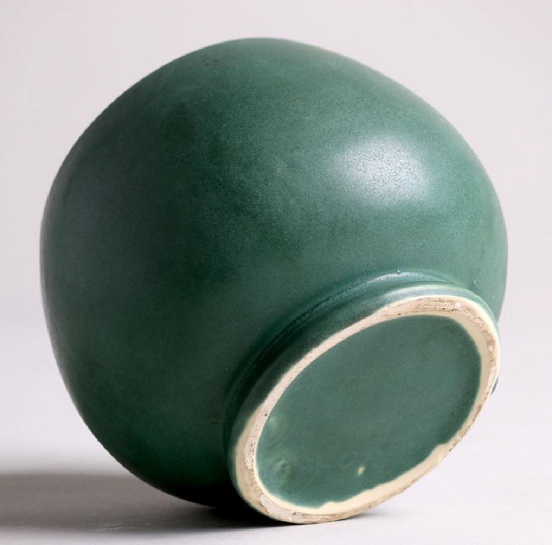 Roseville Matte Green Vase - 3