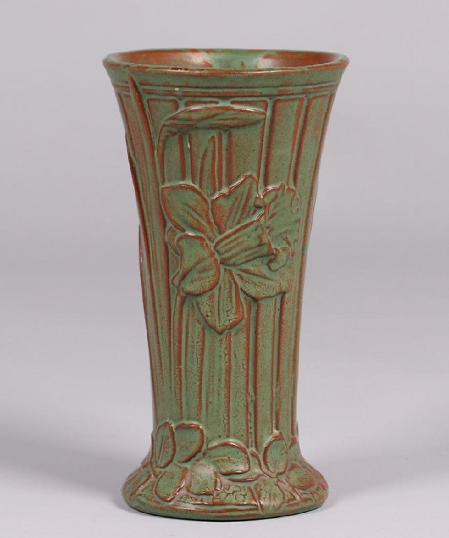 "Peters and Reed 10"" Floral Vase"