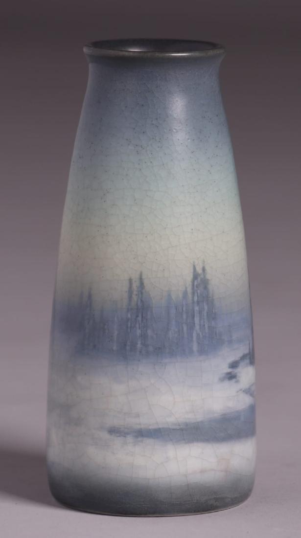 Rookwood Scenic Vellum Vase Sallie Coyne 1914 - 2