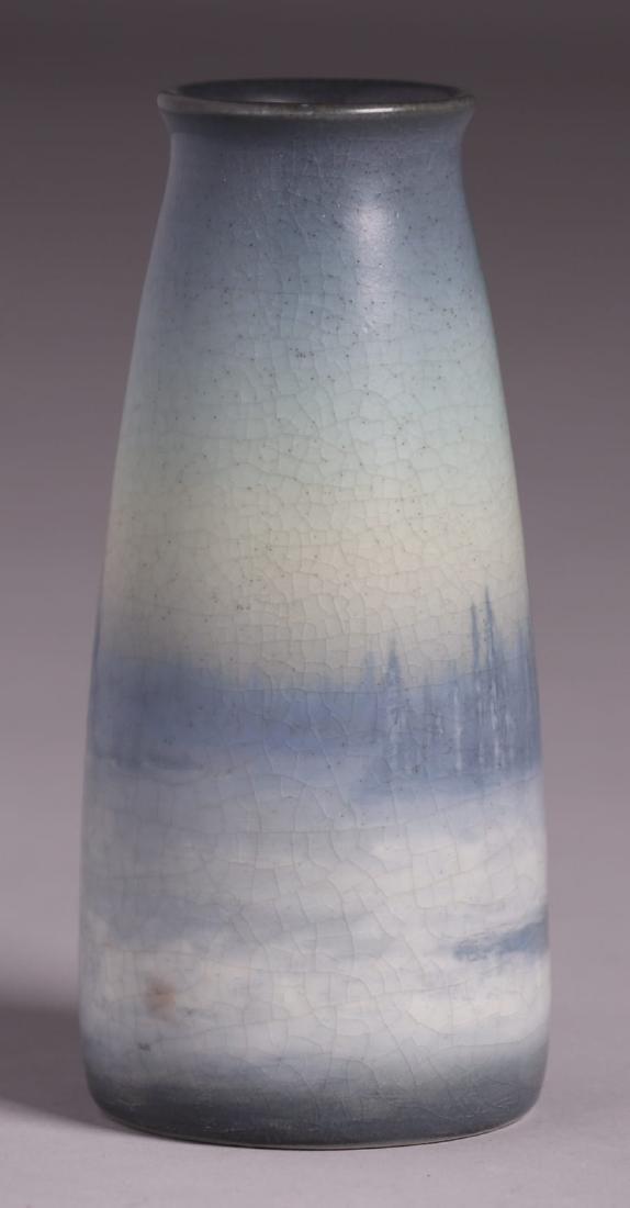 Rookwood Scenic Vellum Vase Sallie Coyne 1914 - 3