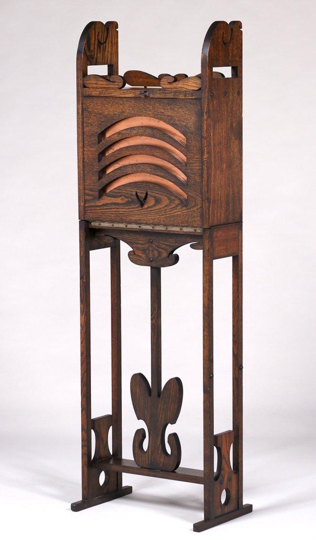 Jamestown Furniture Co Fold-Out Cellarette c1910 - 2