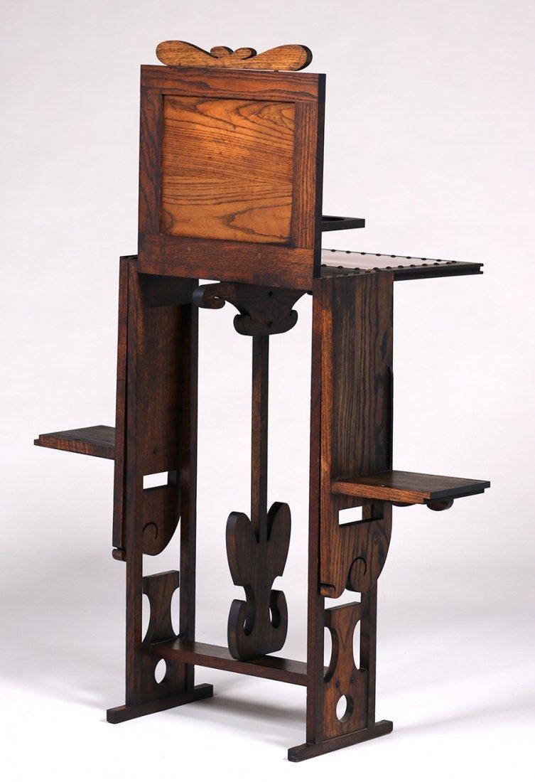 Jamestown Furniture Co Fold-Out Cellarette c1910 - 4