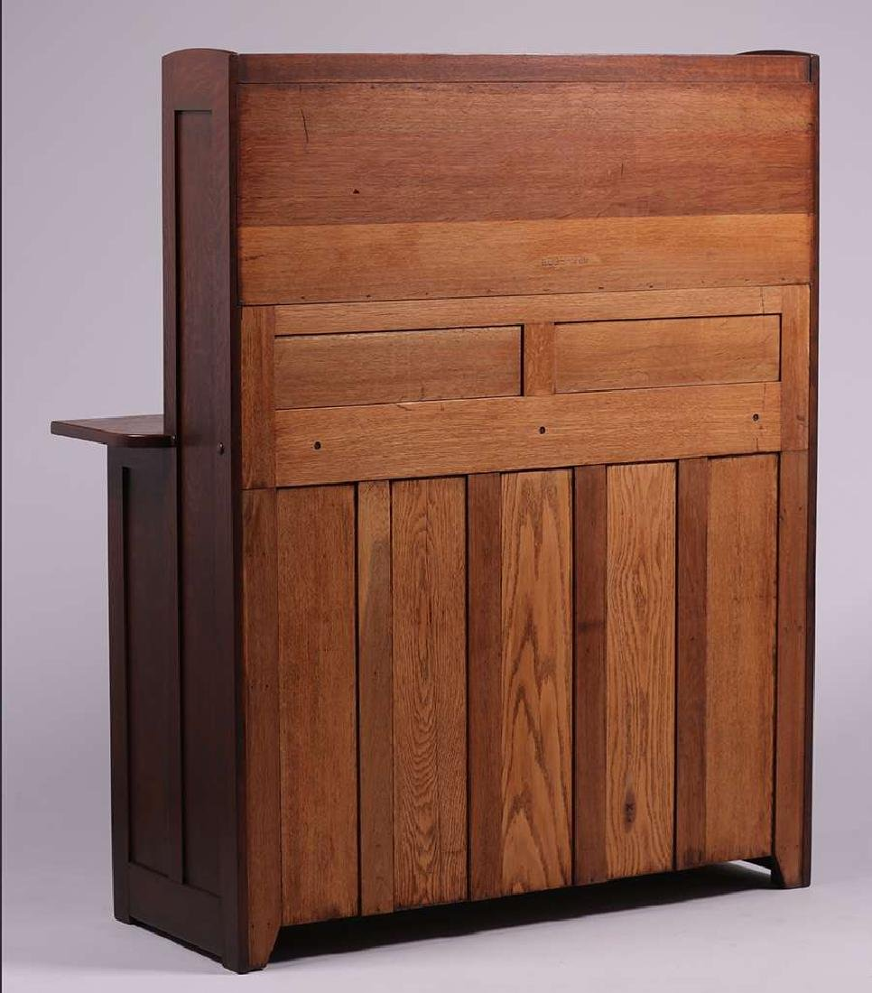 Rare Stickley Brothers #8609 Hutch Sideboard c1910 - 3