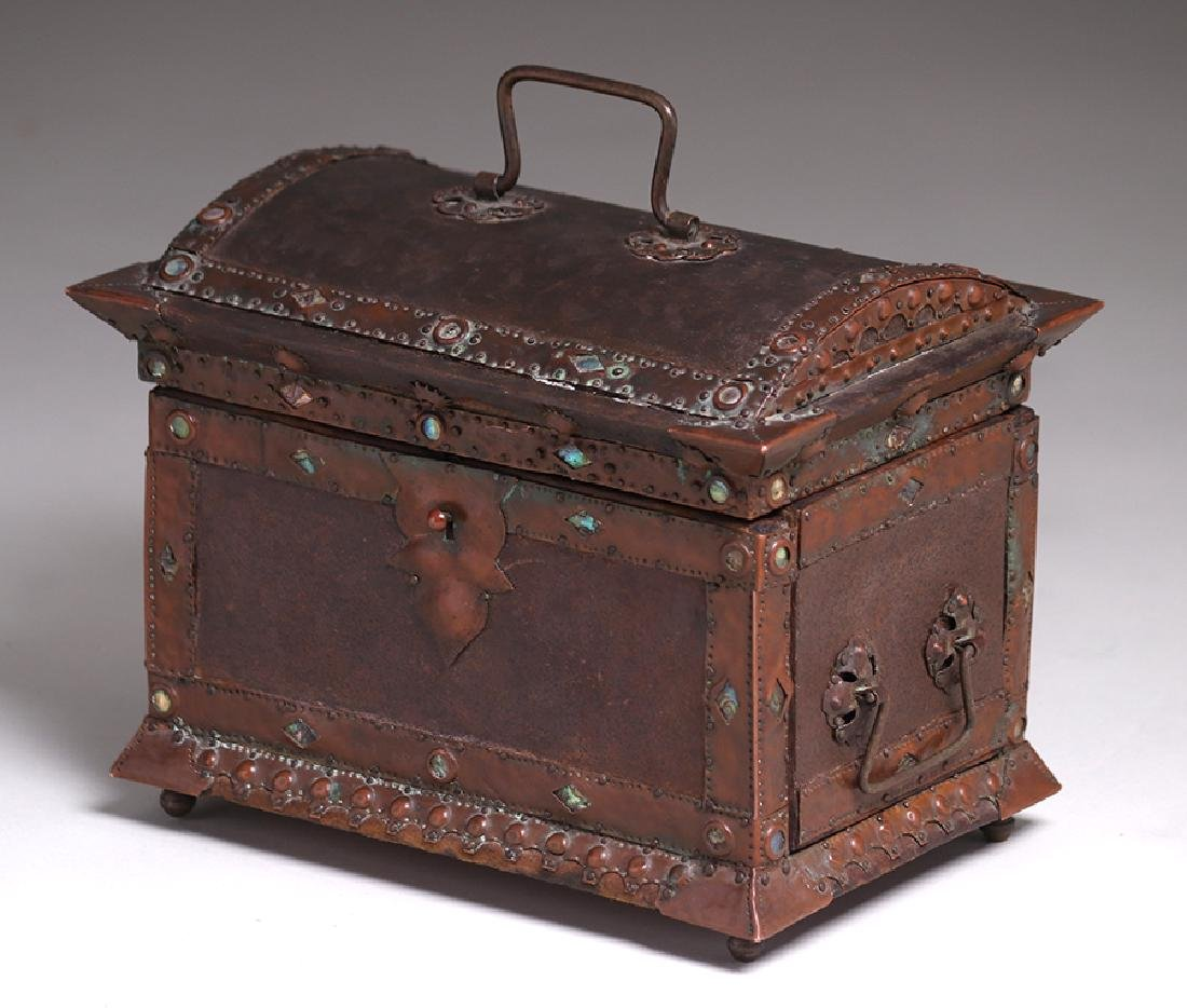 Charles Frederick Eaton Jewelry Box c1906