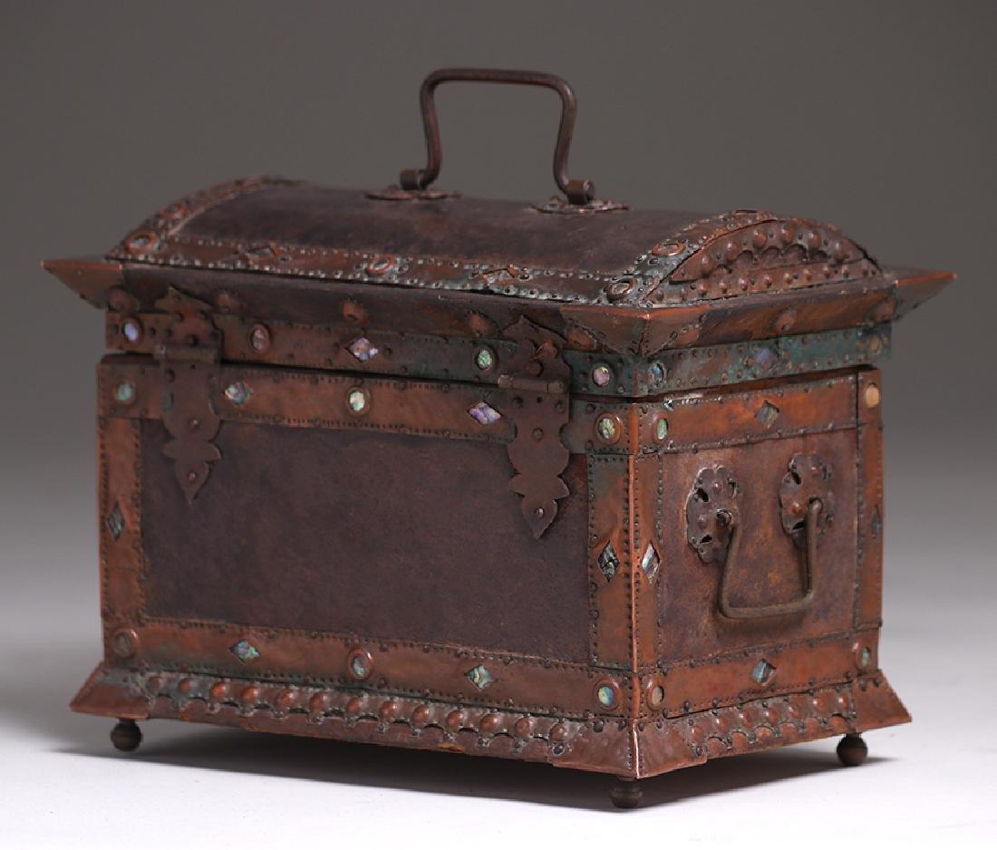 Charles Frederick Eaton Jewelry Box c1906 - 2