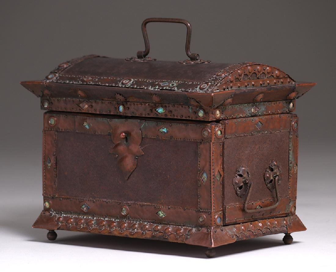 Charles Frederick Eaton Jewelry Box c1906 - 3