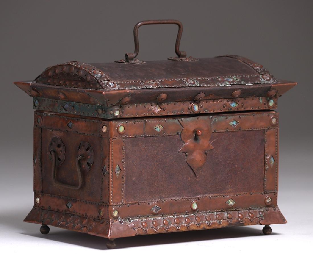 Charles Frederick Eaton Jewelry Box c1906 - 4