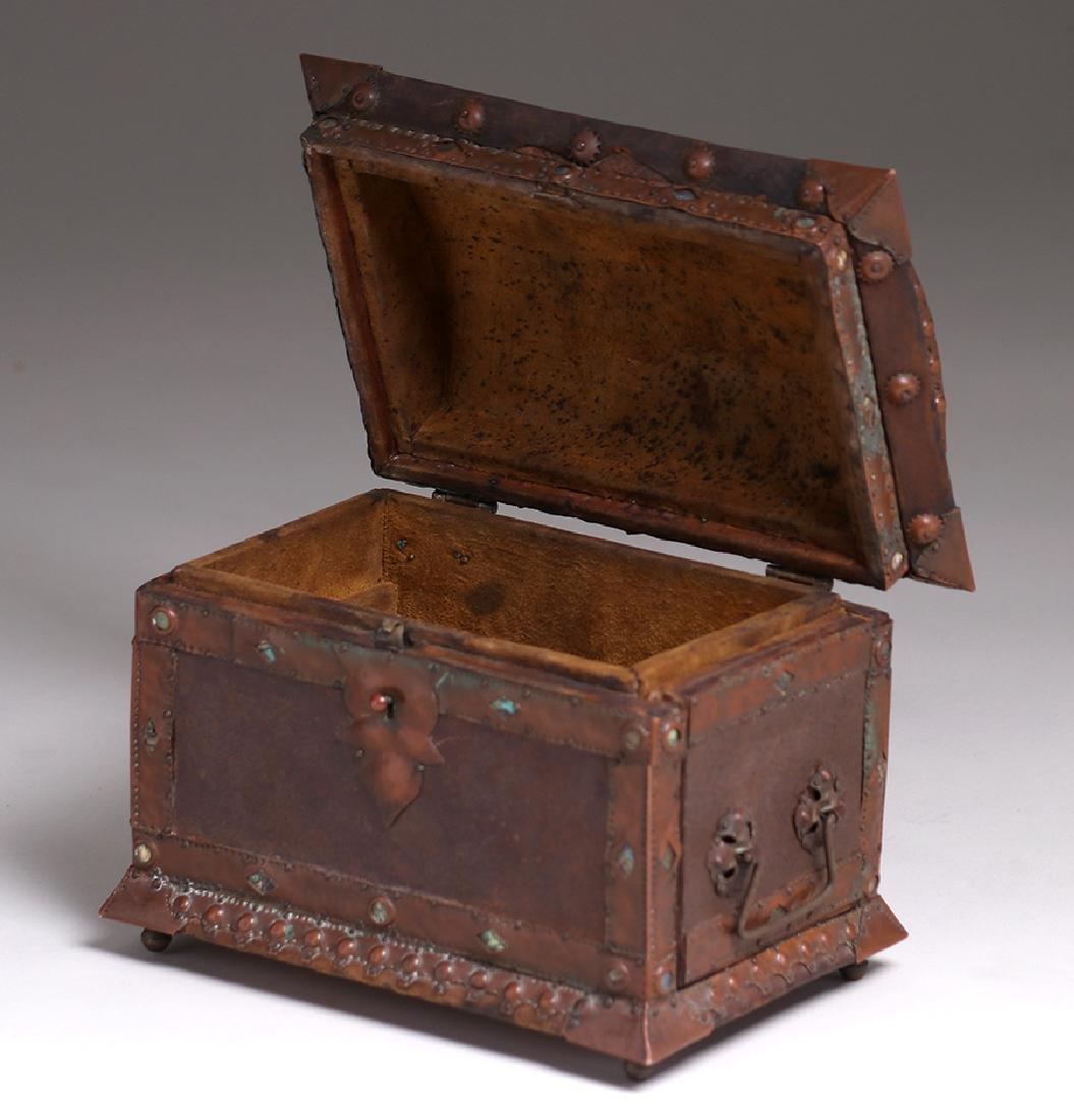Charles Frederick Eaton Jewelry Box c1906 - 5