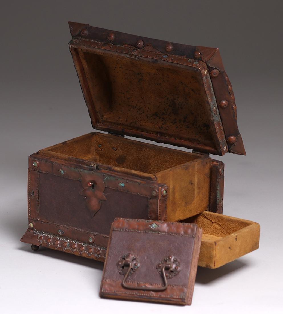 Charles Frederick Eaton Jewelry Box c1906 - 6