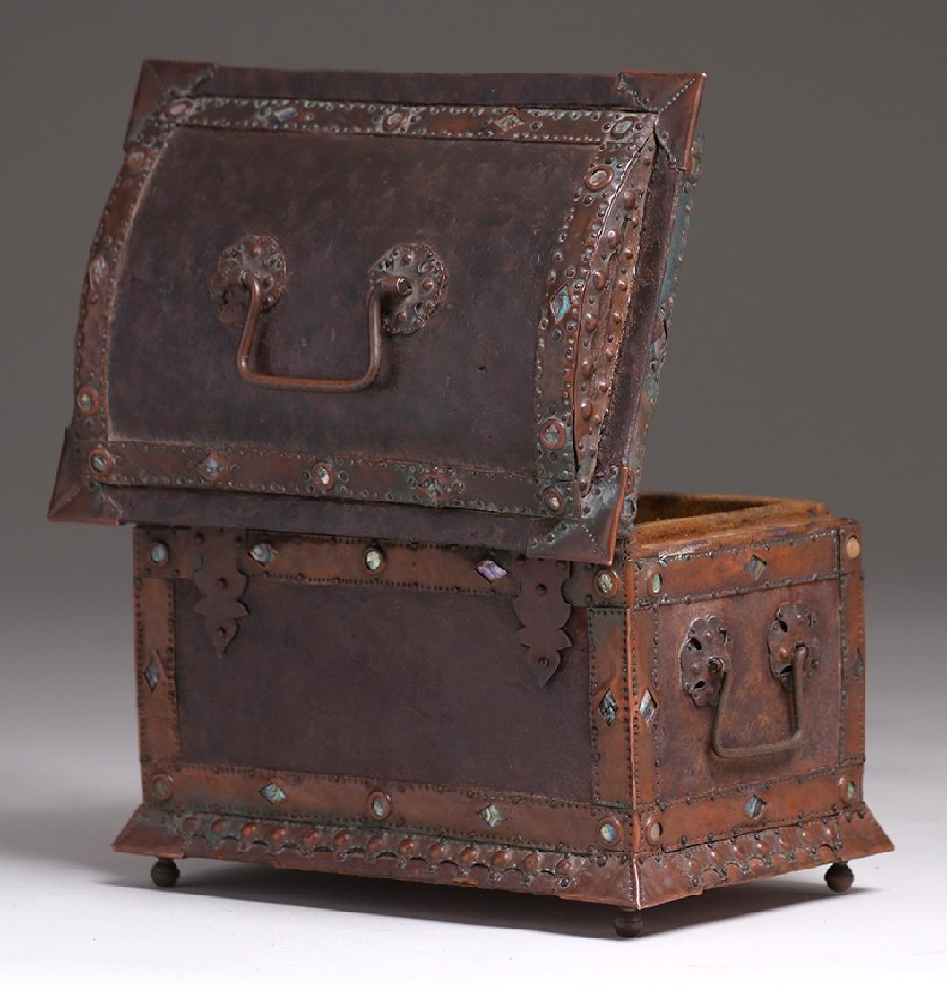 Charles Frederick Eaton Jewelry Box c1906 - 7
