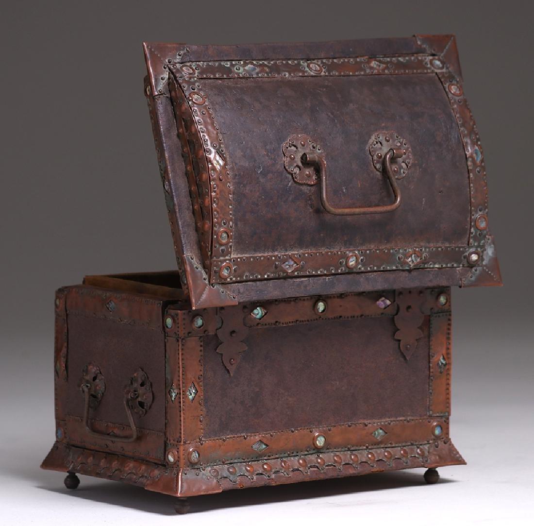 Charles Frederick Eaton Jewelry Box c1906 - 8