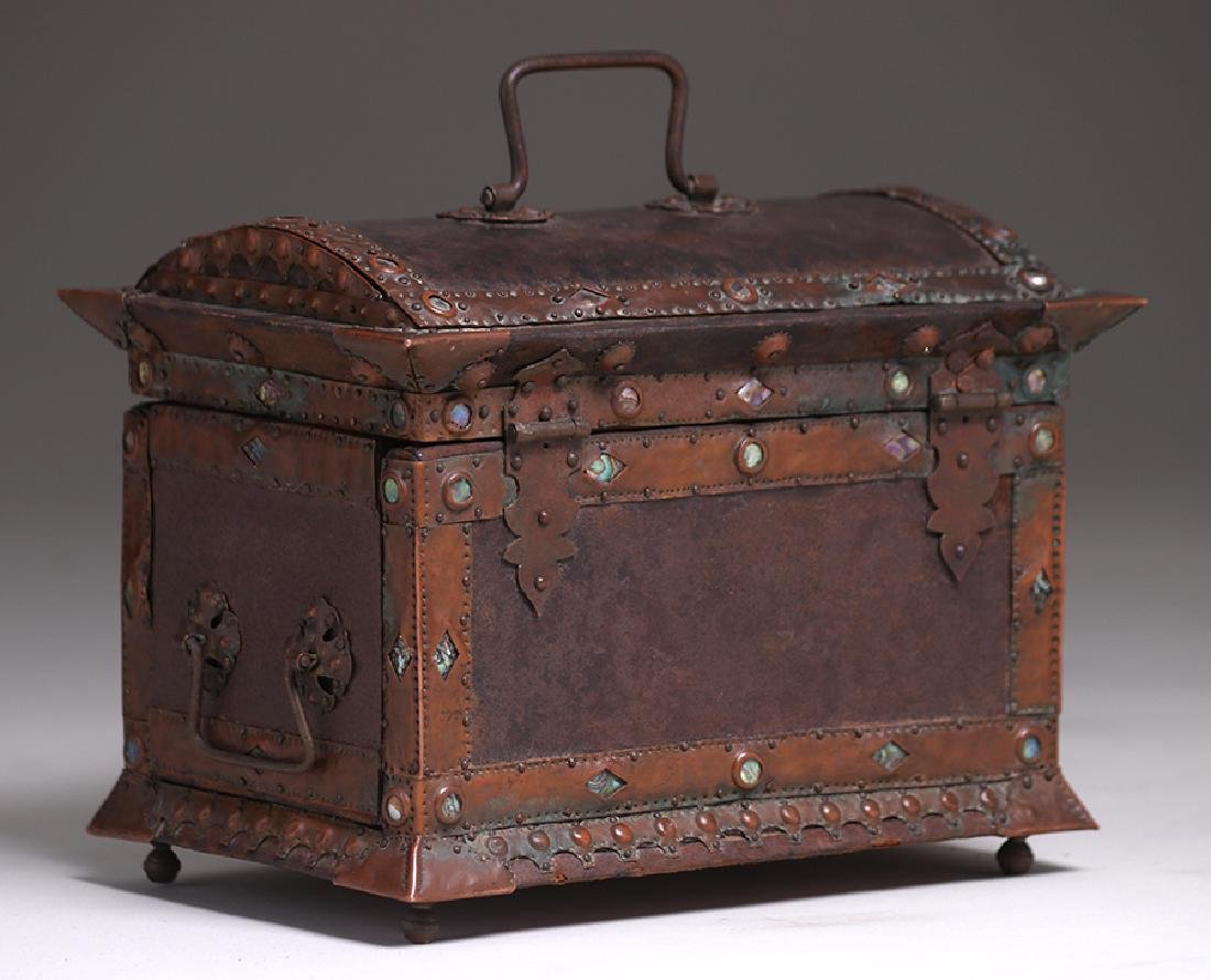 Charles Frederick Eaton Jewelry Box c1906 - 9