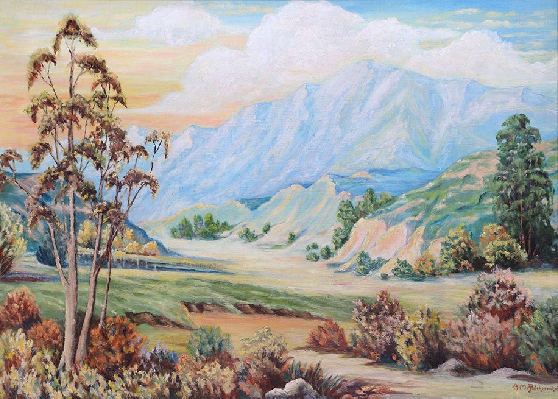 Alexander Podchernikoff California Landscape Painting