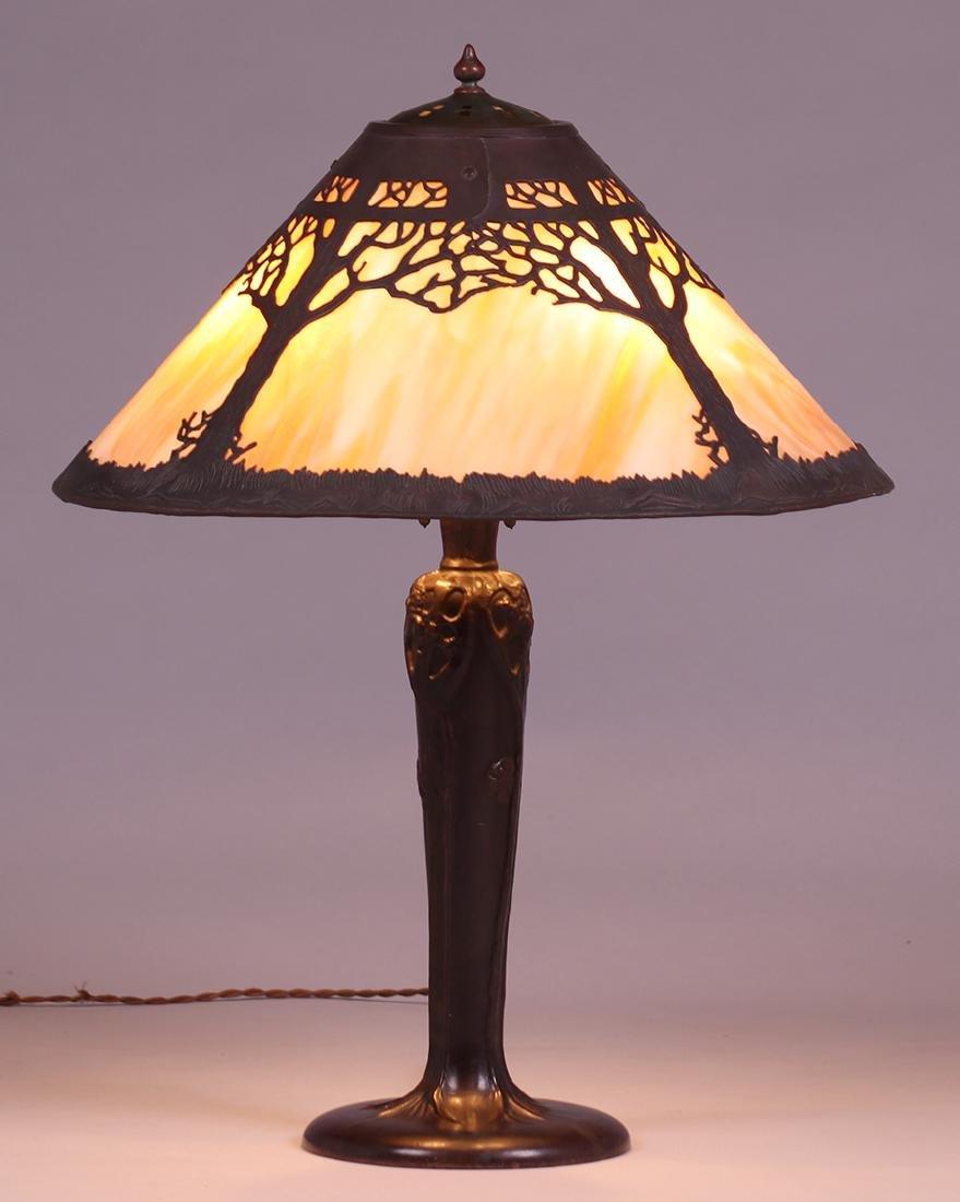 Handel Oak Tree Overlay Lamp