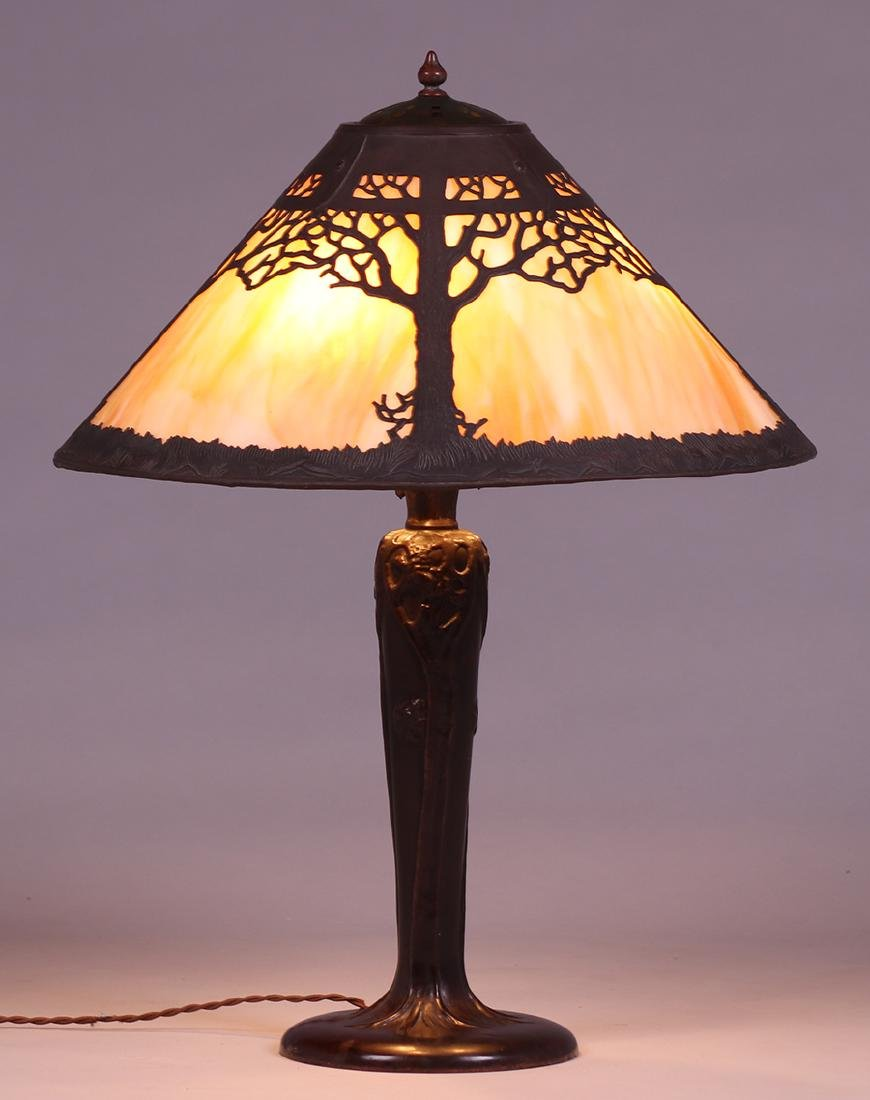 Handel Oak Tree Overlay Lamp - 2