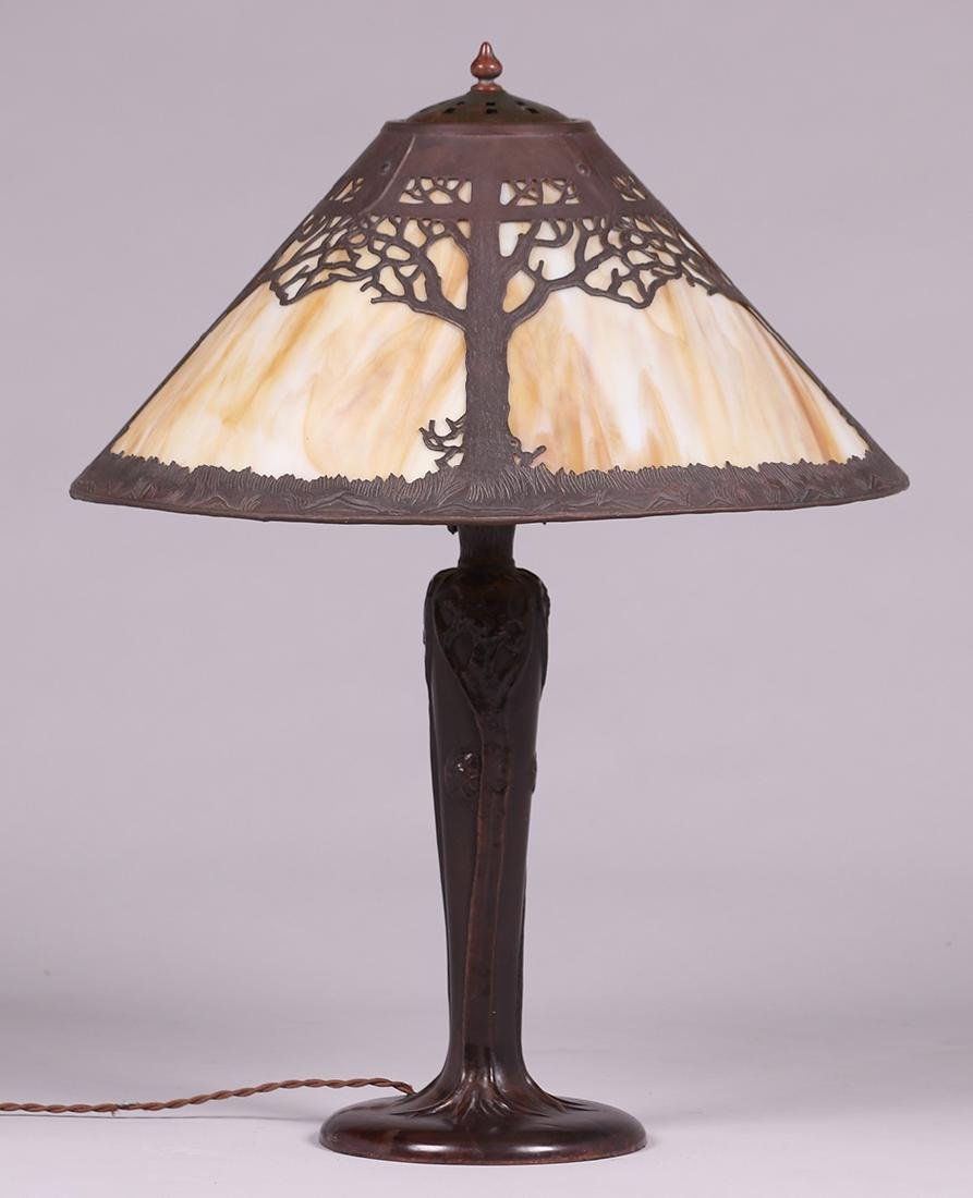 Handel Oak Tree Overlay Lamp - 3