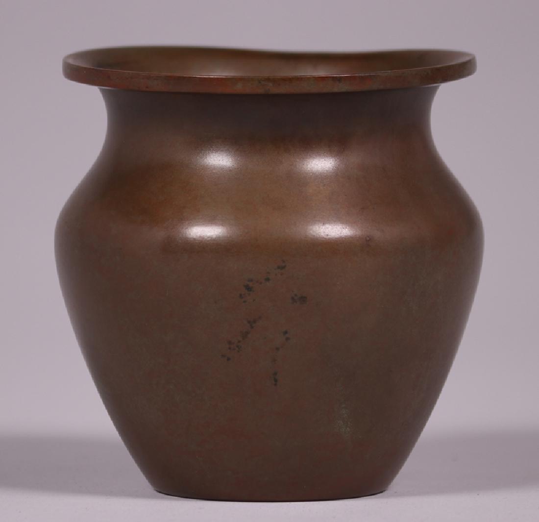 Silvercrest Sterling on Bronze Overlay Vase - 2