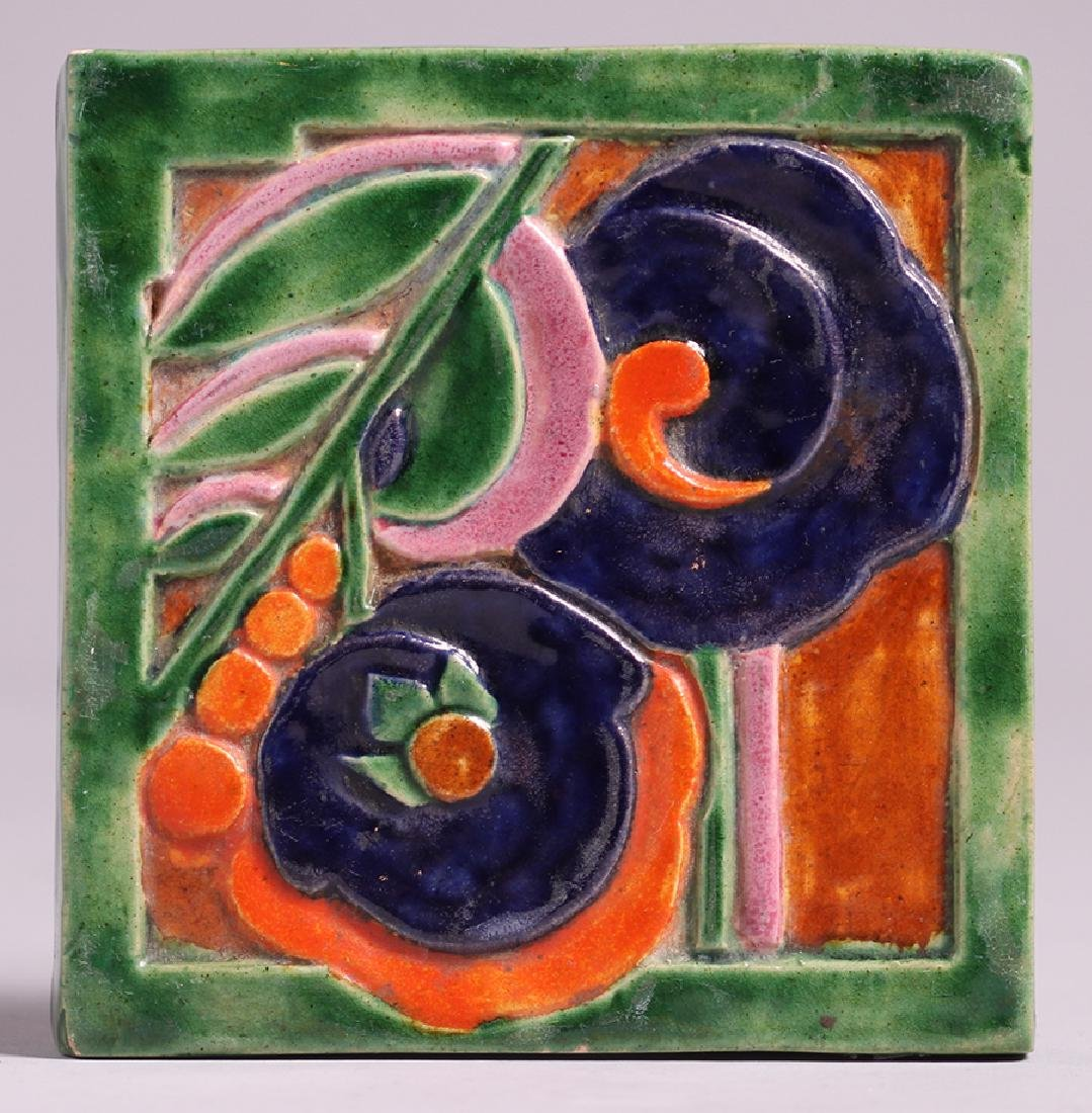Art Deco Studio Tile c1920s