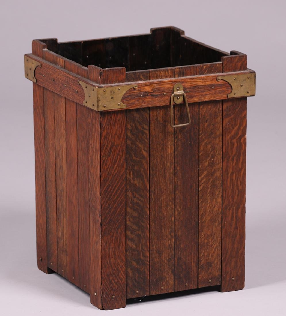 Lakeside Crafts Shop Waste Basket c1910