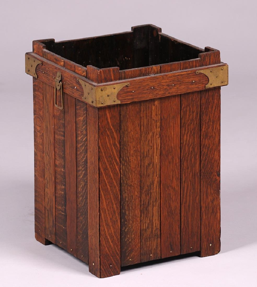 Lakeside Crafts Shop Waste Basket c1910 - 2