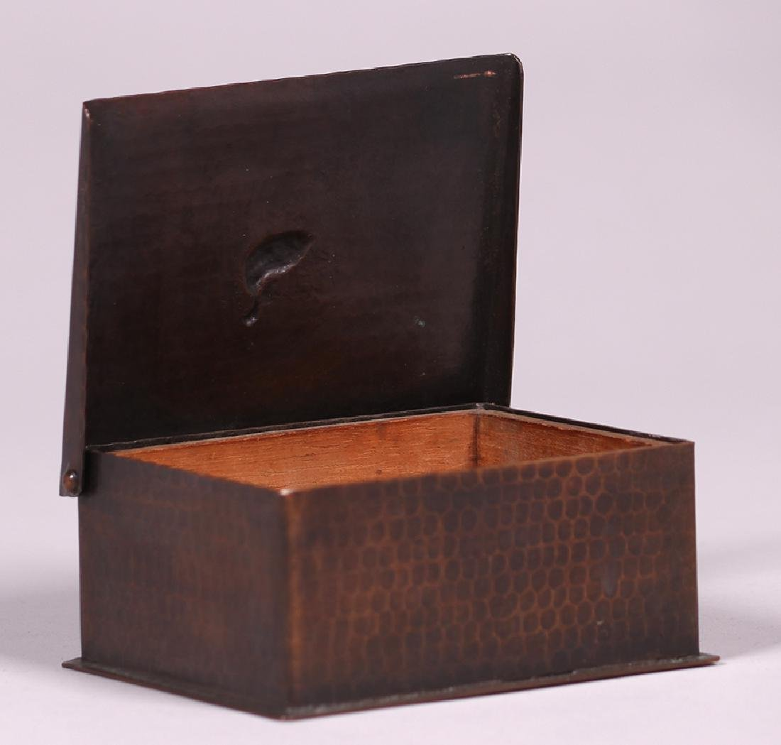 Craftsman Studios Hammered Copper Box - 2