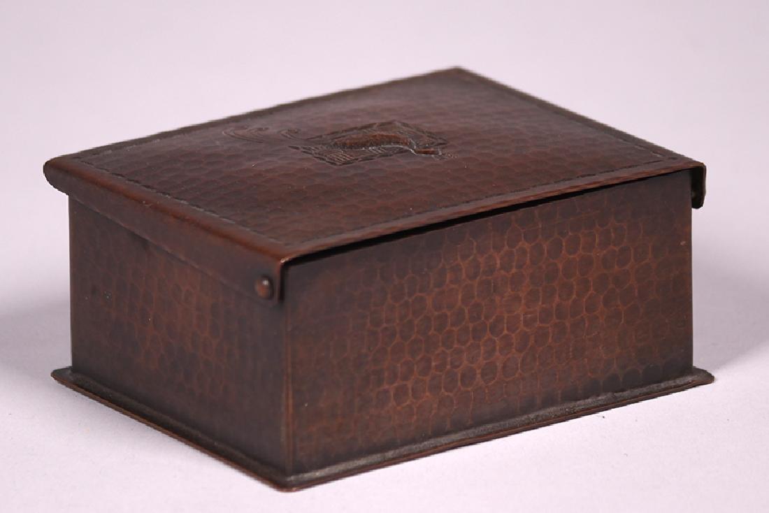 Craftsman Studios Hammered Copper Box - 3