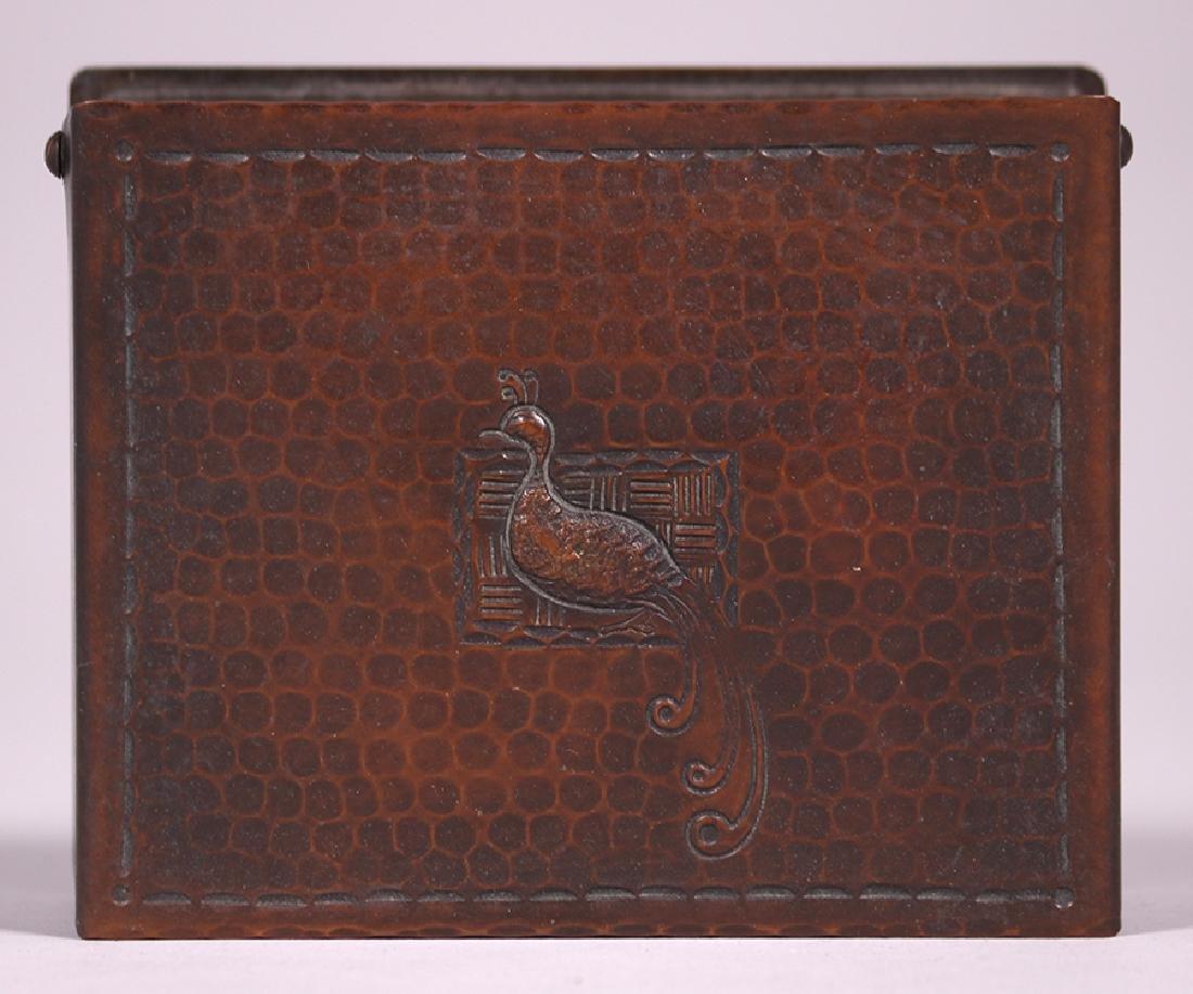 Craftsman Studios Hammered Copper Box - 5