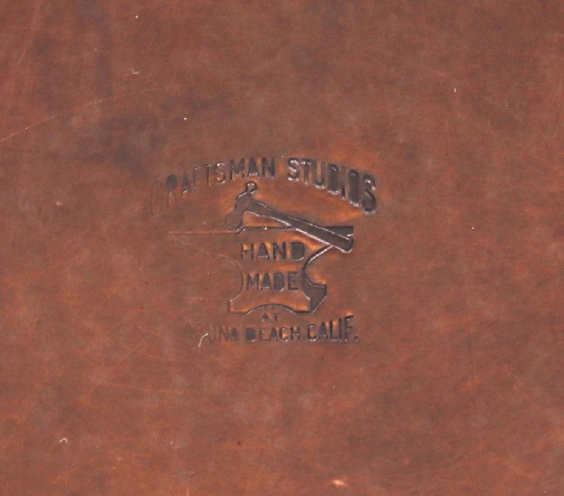 Craftsman Studios Hammered Copper Box - 6