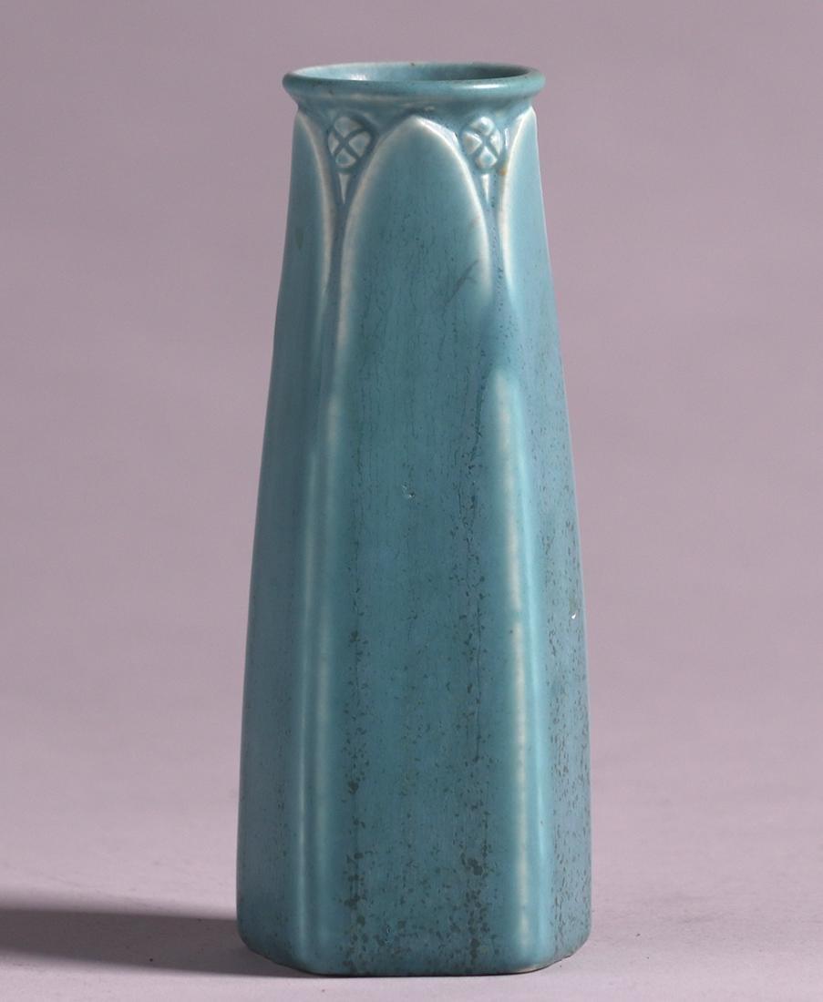 Rookwood Matte Blue Vase 1924 - 2