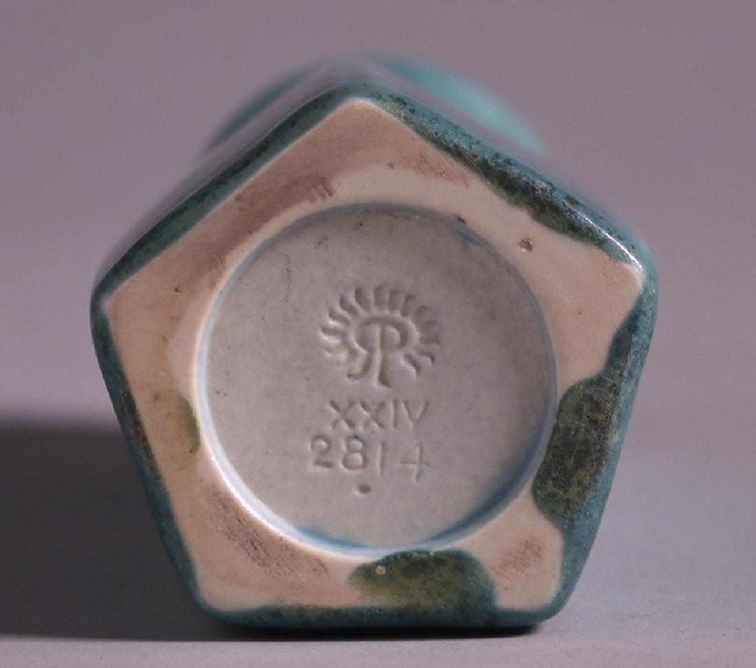 Rookwood Matte Blue Vase 1924 - 3