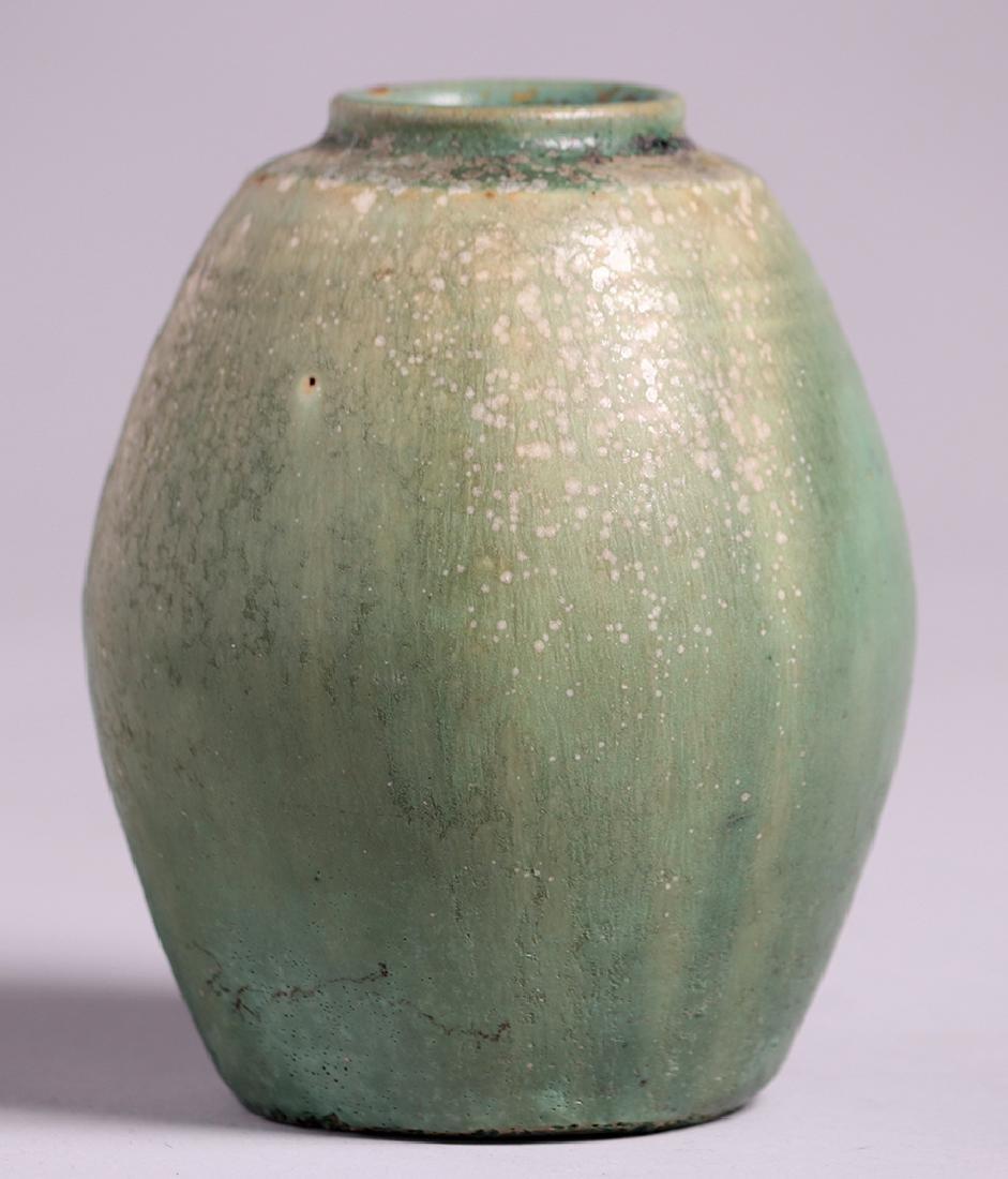 Arne Bang Holmegaard Green Vase c1920s-1930s - 2