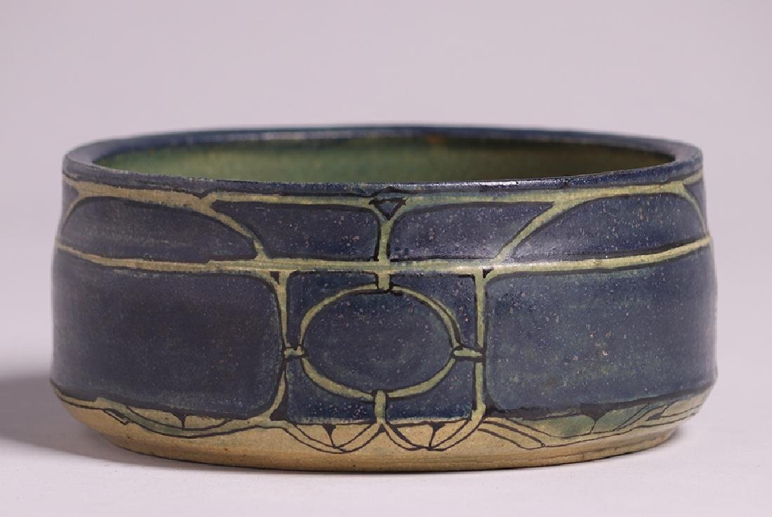 Contemporary Gerry Wallace Ceramic Bowl - 2