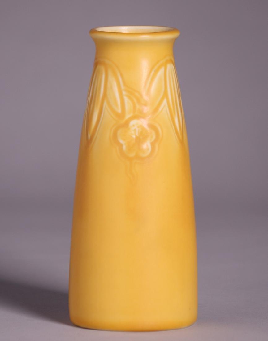 Rookwood Matte Yellow Vase 1926