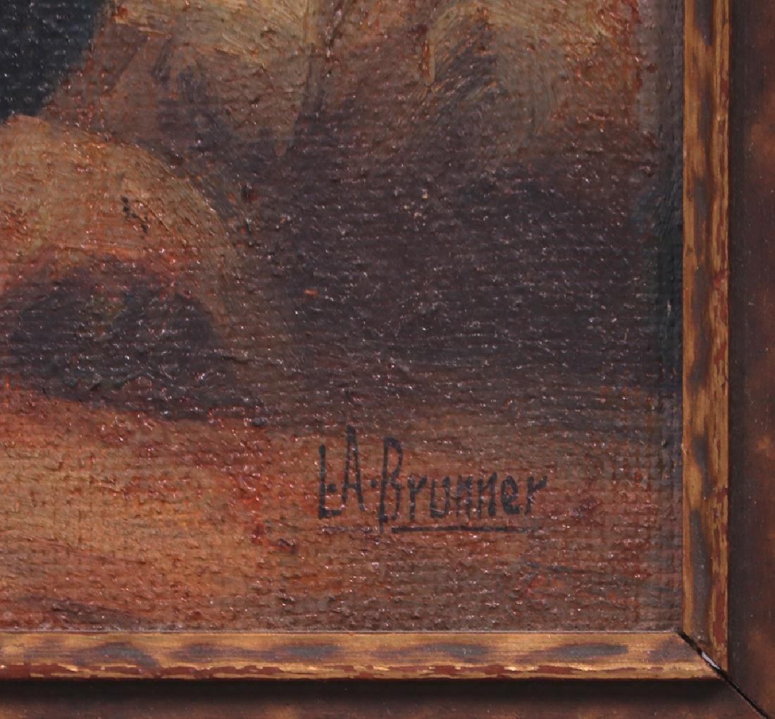 Lawrence Brunner Painting California Ponderosa Pines - 3