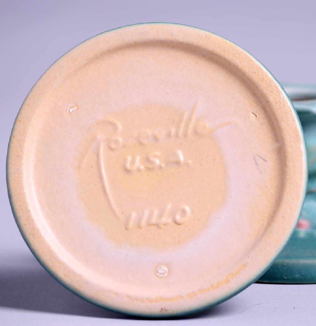 Pair Roseville Magnolia Candlesticks - 2
