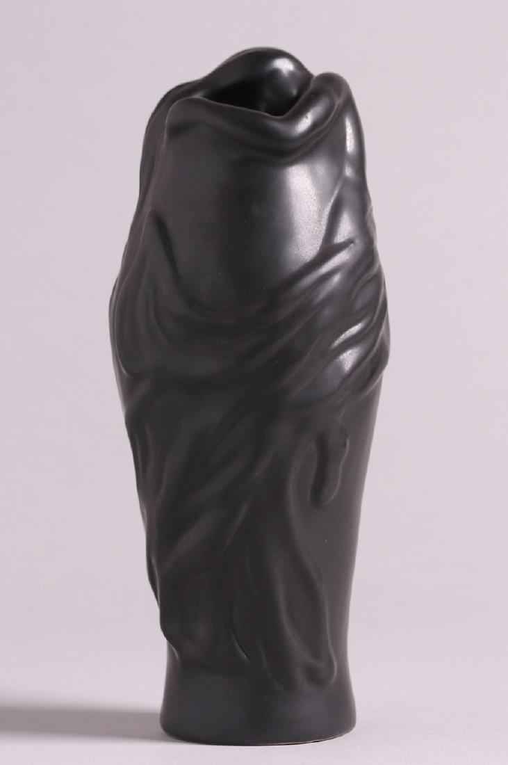 Van Briggle Black Lorelai Vase c1980s