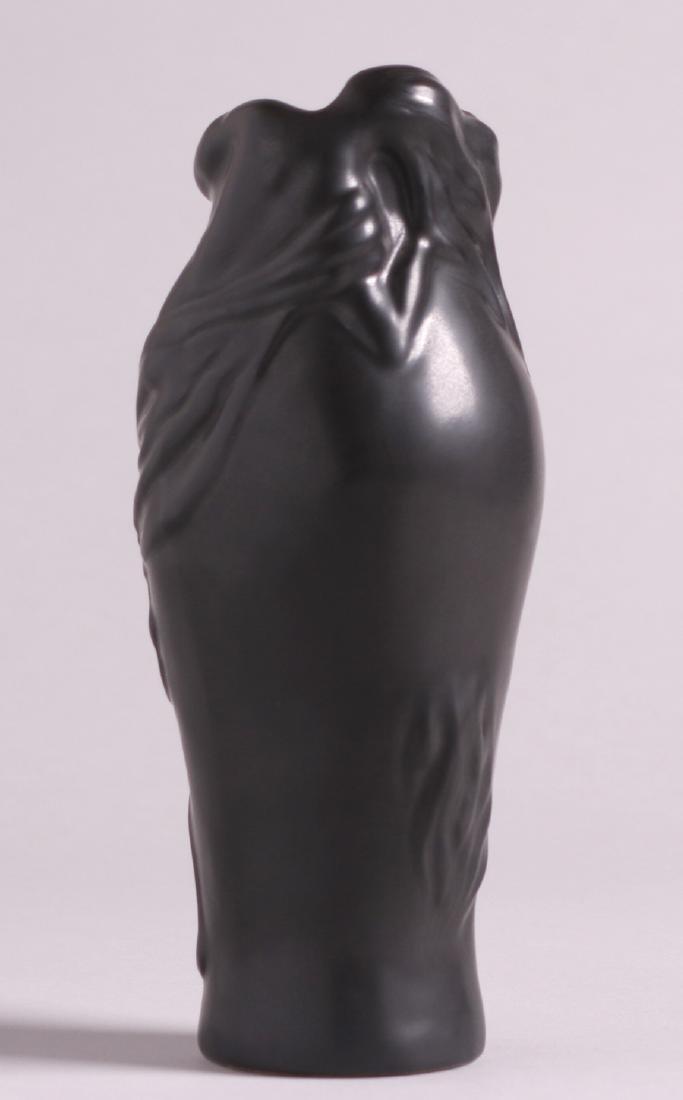Van Briggle Black Lorelai Vase c1980s - 2
