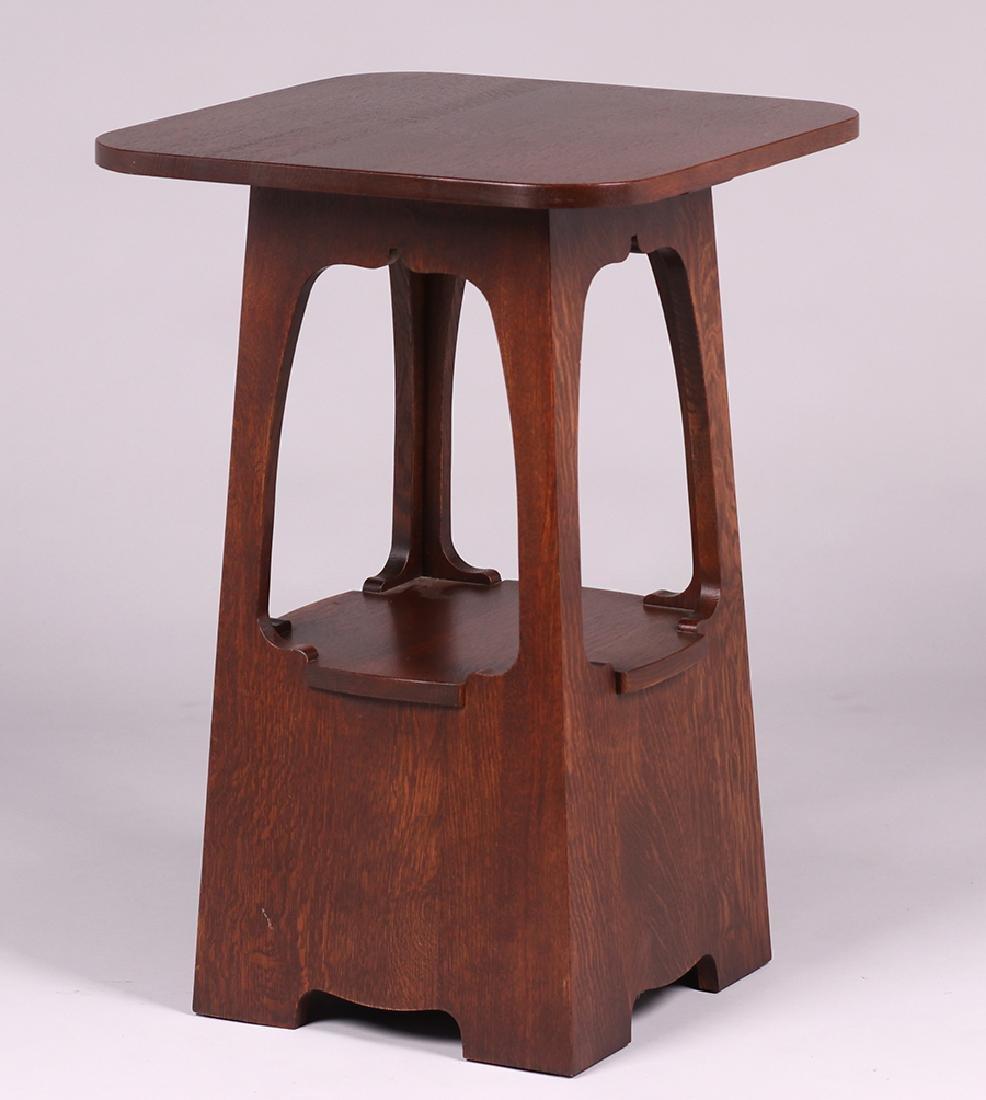 New Stickley Limbert Pagoda Table - 2