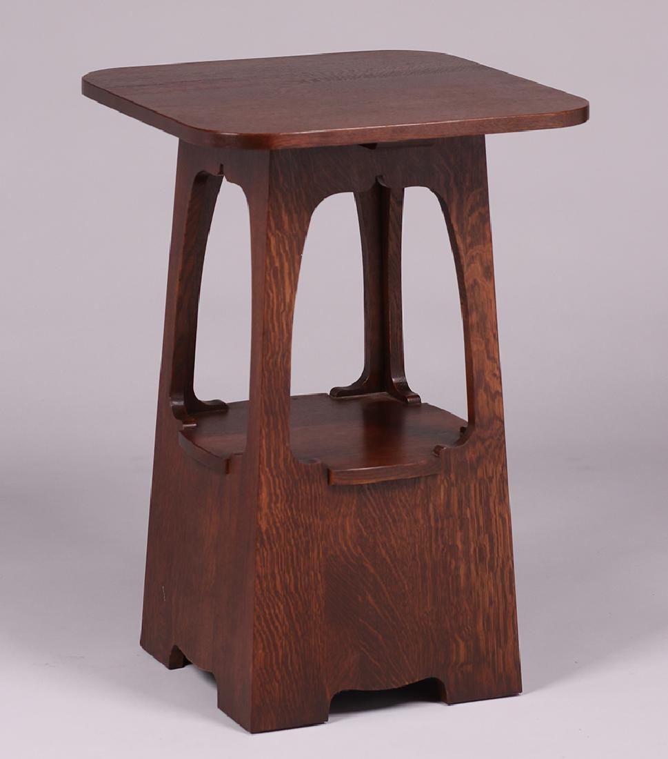 New Stickley Limbert Pagoda Table - 4