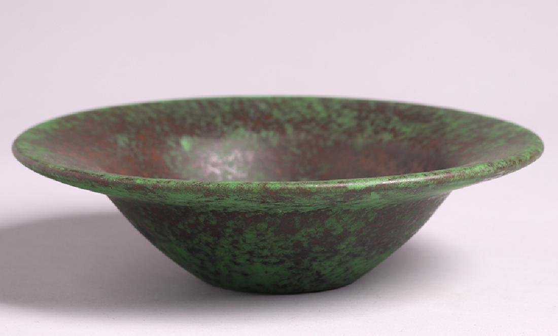 Weller Coppertone Flared Fruit Bowl