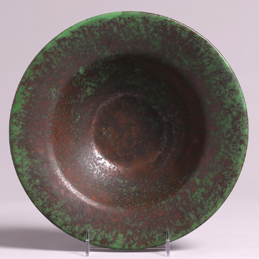 Weller Coppertone Flared Fruit Bowl - 3