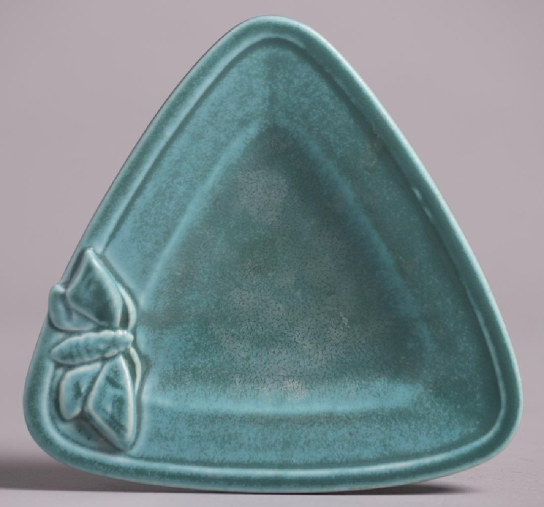 Rookwood Light Blue Butterfly Tray 1927