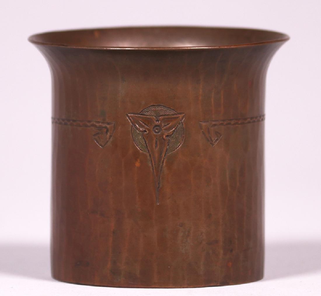 Roycroft Small Flared Trifoil Vase